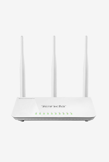 Tenda TE-W1800R 1750 Mbps Wireless High Speed Router (White)