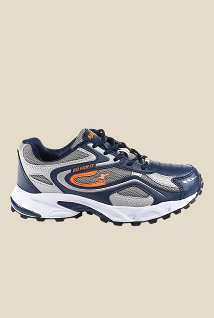 Sparx Navy & Grey Running Shoes