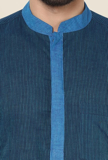 Yepme Bruce Blue Striped Kurta