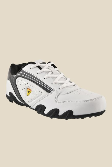 Sparx White & Black Running Shoes