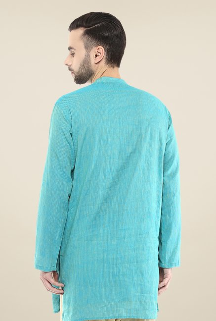 Yepme Brad Blue Striped Kurta