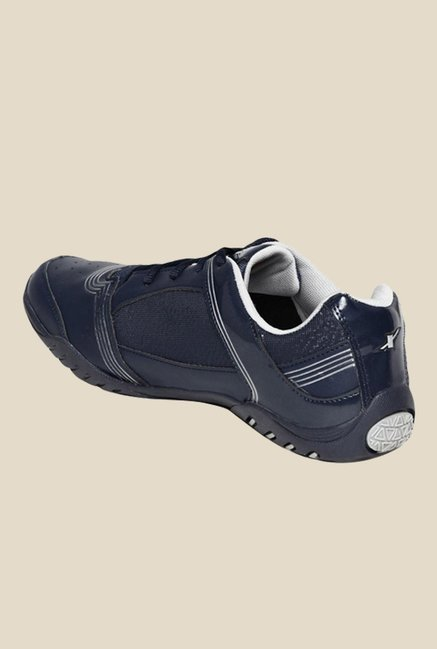 Sparx Navy & White Running Shoes
