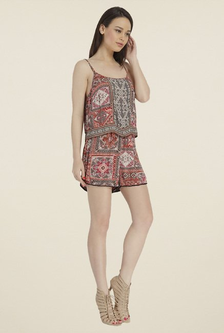 Only Multicolor Printed Jumpsuit