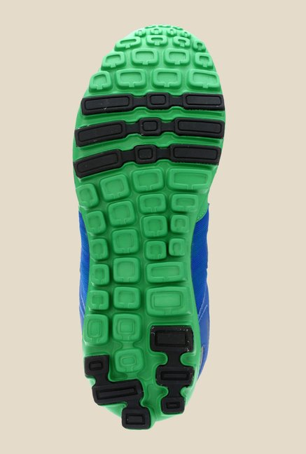 Sparx Green & Blue Running Shoes