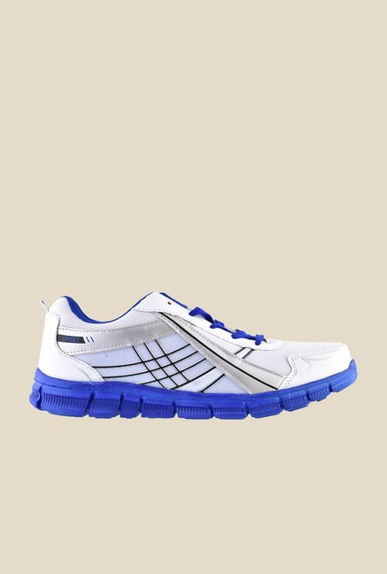 Sparx White & Blue Running Shoes
