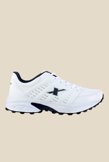 Sparx White & Navy Running Shoes