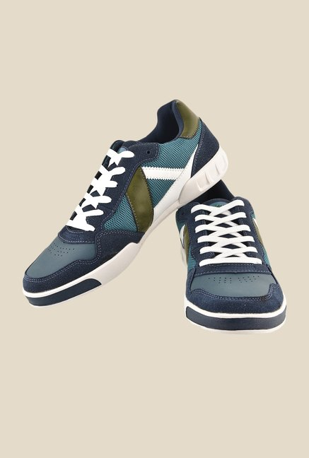 Sparx Blue & Green Casual Shoes