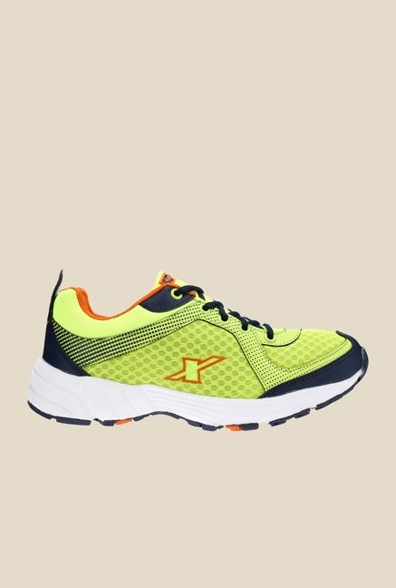 Sparx Green & Navy Running Shoes