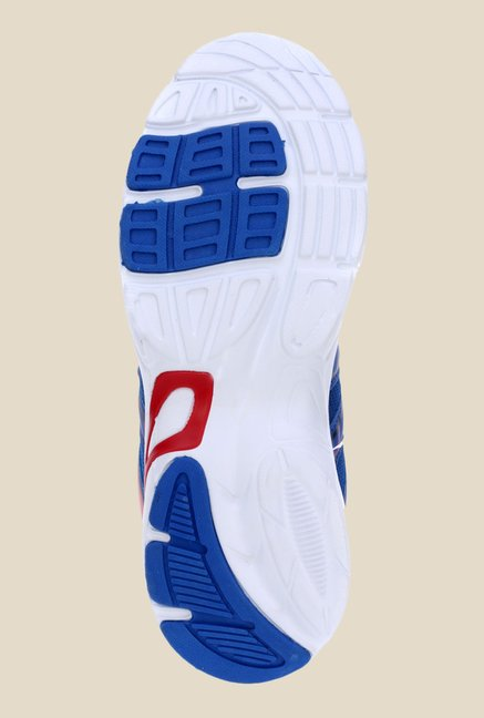 Sparx Blue & Red Running Shoes