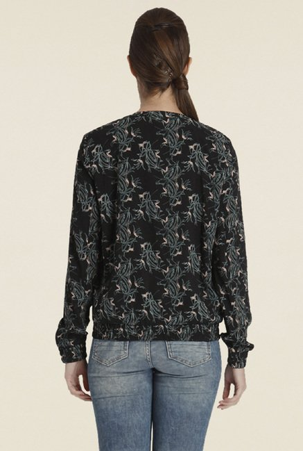 Only Black Printed Cardigan
