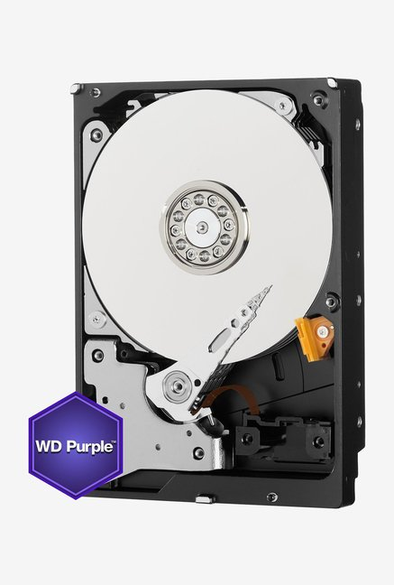 WD Purple 4 TB Internal Hard Disk (Silver)