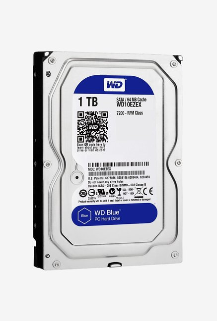 WD Blue 1 TB Internal Hard Disk (Silver)