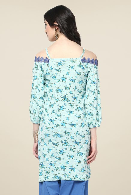 Yepme Light Blue Livia Tunic