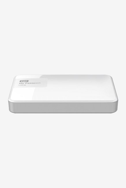 WD My Passport Ultra 2 TB External Hard Disk (White)