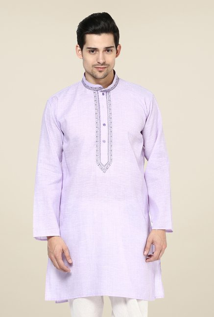 Yepme Keegan Purple Solid Kurta