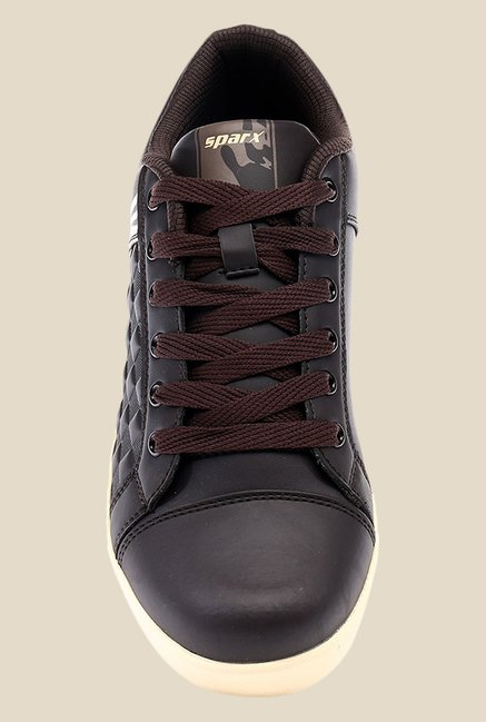 Sparx Brown Running Shoes