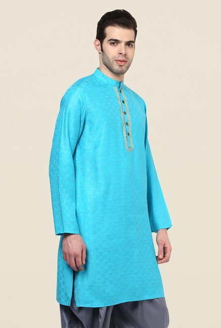 Yepme Willians Blue Kurta