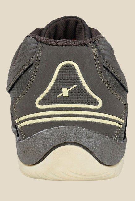 Sparx Grey & Olive Casual Shoes
