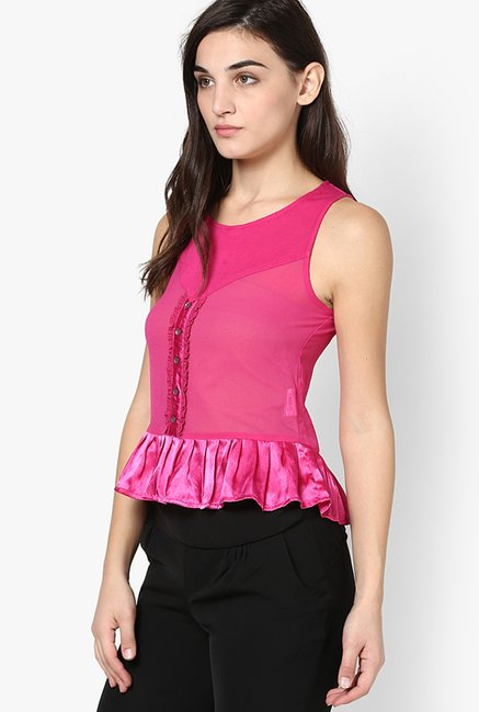 Only Pink Solid Top