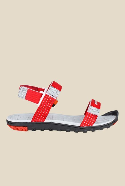 Sparx Red Floater Sandals