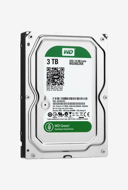 WD Green 3 TB Internal Hard Disk (Silver)