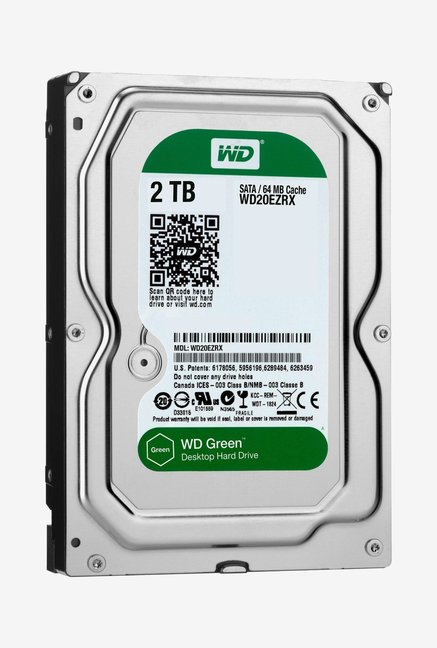 WD Green 2 TB Internal Hard Disk (Silver)