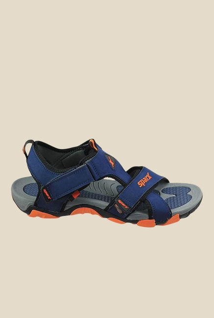 Sparx Blue & Orange Floater Sandals