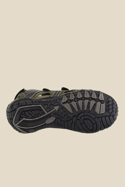 Sparx Olive & Grey Floater Sandals