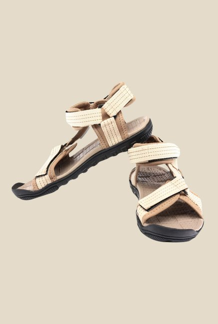 Sparx Beige Floater Sandals