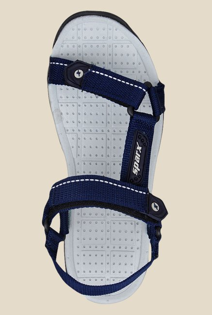 Sparx Blue & Grey Floater Sandals