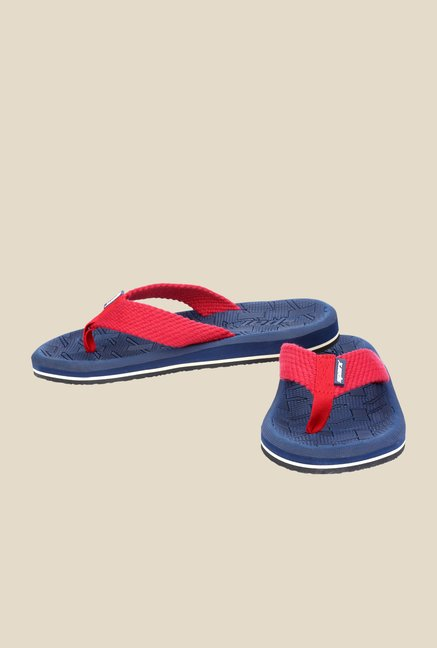Sparx Red & Blue Flip Flops