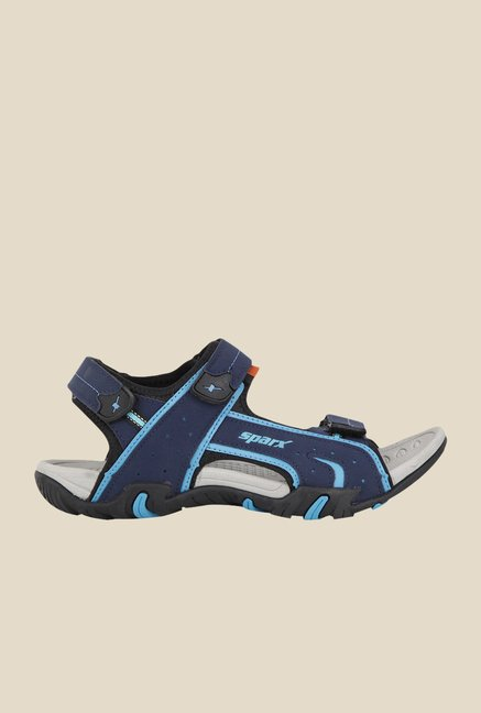 Sparx Navy Floater Sandals