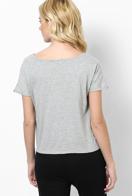 Only Grey Printed Top