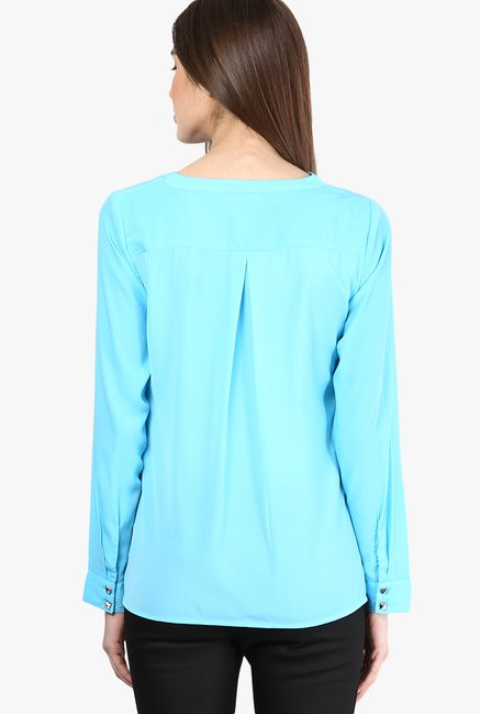 Only Turquoise Solid Top