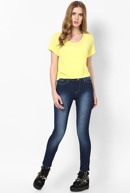 Only Yellow Solid Top