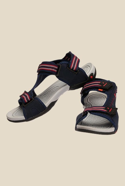 Sparx Navy & Red Floater Sandals