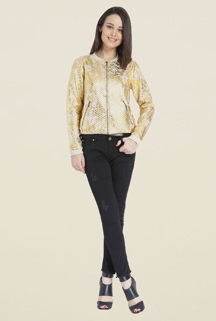 Only Gold Printed Jacket