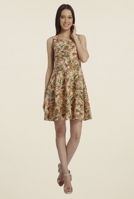 Vero Moda Multicolor Skater Dress
