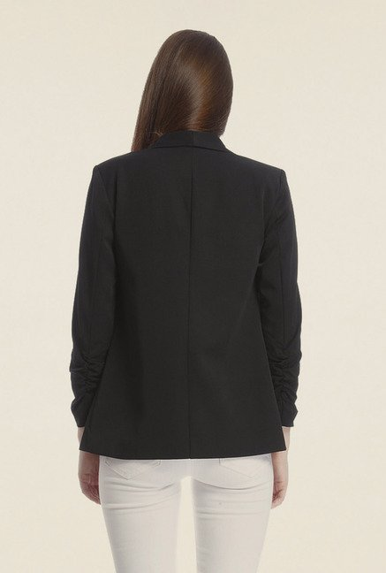 Vero Moda Black Solid Jacket