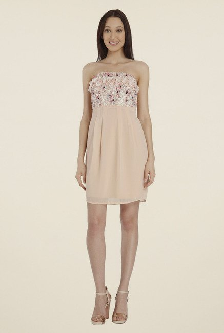 Vero Moda Pink Tube Dress