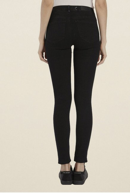 Vero Moda Black Raw Denim Jeans