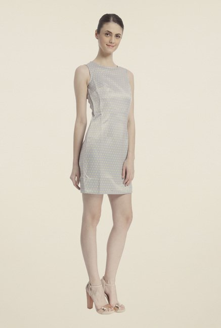 Vero Moda Grey A-Line Dress
