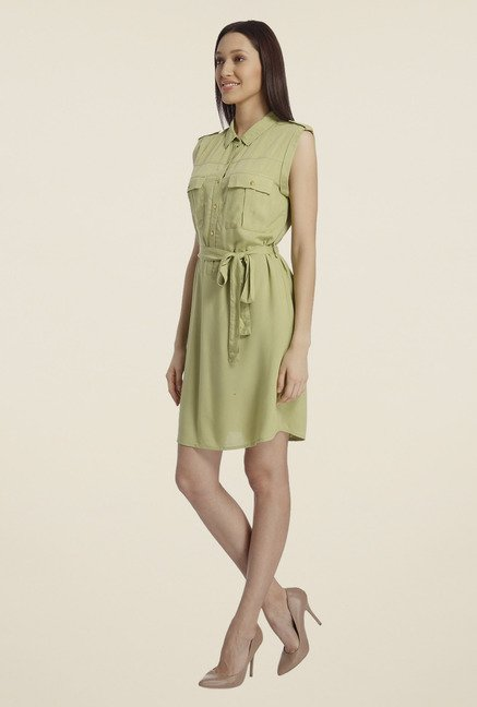 Vero Moda Green Shift Dress