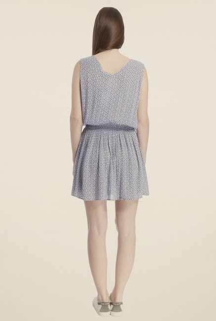 Vero Moda Blue Blouson Dress