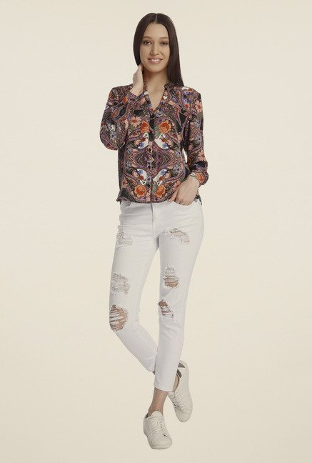 Vero Moda Multicolor Printed Shirt