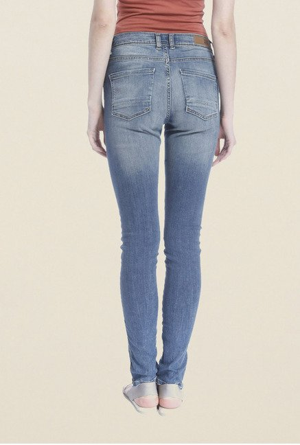 Vero Moda Blue Heavily washed Jeans
