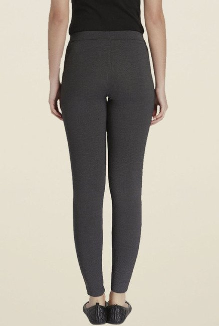 Only Dark Grey Skinny Fit Jeggings