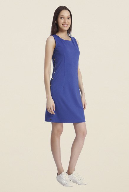 Vero Moda Blue A-Line Dress