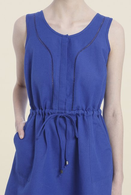 Vero Moda Blue Shift Dress
