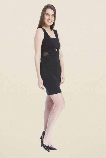 Vero Moda Black A-Line Dress